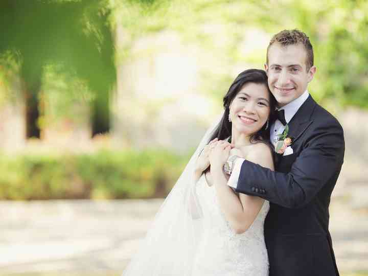 The wedding of James and Angela