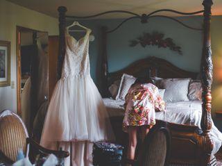 The wedding of Teri and Brandon 1