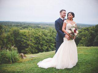 The wedding of Teri and Brandon