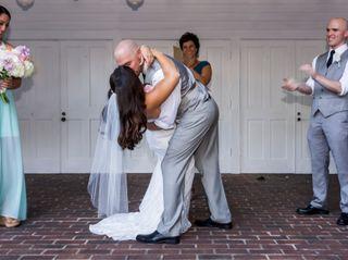 The wedding of Rob and Lindsay