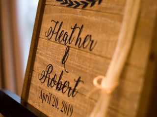 The wedding of Robert and Heather 3