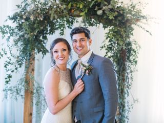 The wedding of Cassandra  and Brandon