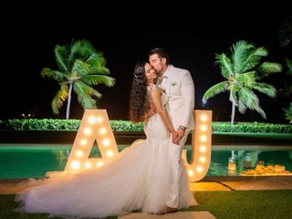 The wedding of Angela and Caba Kurland