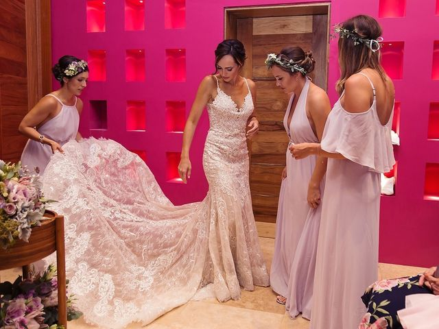 Mike and Liz's Wedding in Playa del Carmen, Mexico 10