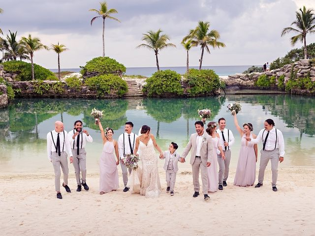 Mike and Liz's Wedding in Playa del Carmen, Mexico 1