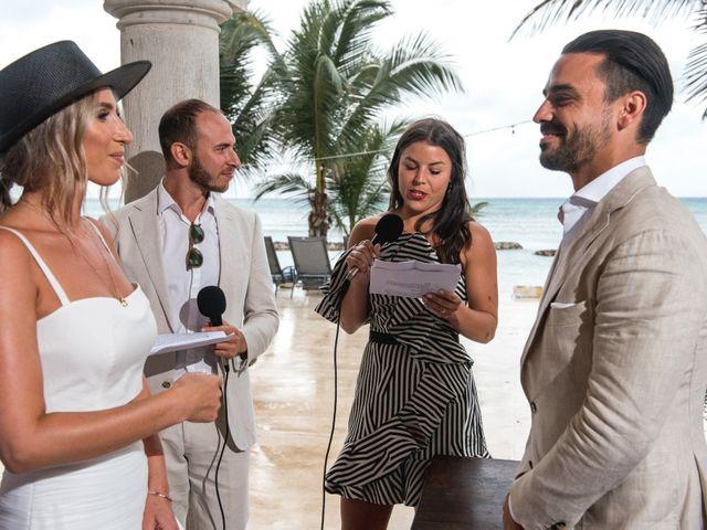 Alex and Nat's Wedding in Playa del Carmen, Mexico 31