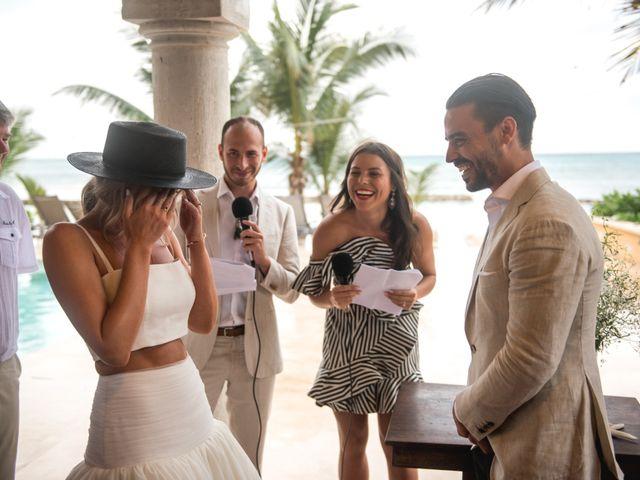 Alex and Nat's Wedding in Playa del Carmen, Mexico 35