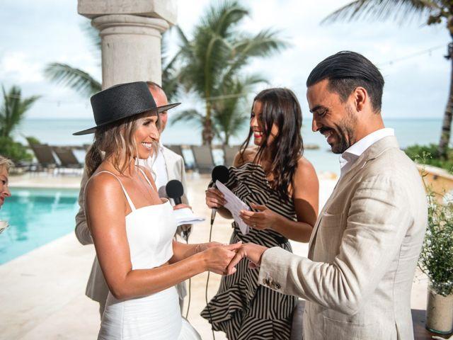 Alex and Nat's Wedding in Playa del Carmen, Mexico 41