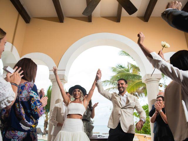 Alex and Nat's Wedding in Playa del Carmen, Mexico 43