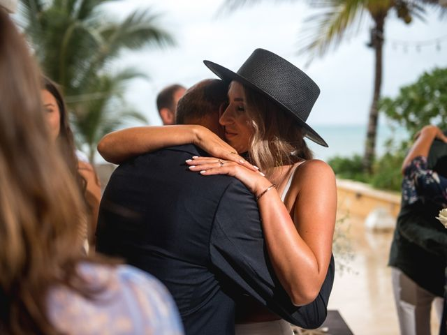 Alex and Nat's Wedding in Playa del Carmen, Mexico 44