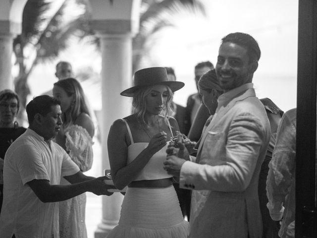 Alex and Nat's Wedding in Playa del Carmen, Mexico 48