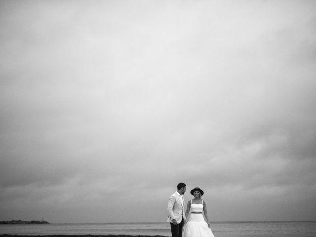 Alex and Nat's Wedding in Playa del Carmen, Mexico 54