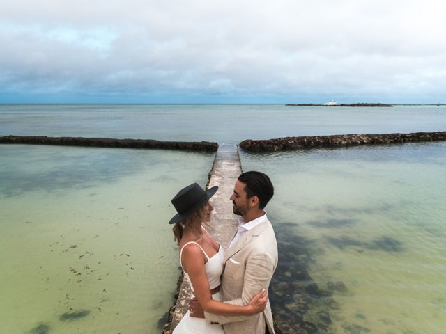 Alex and Nat's Wedding in Playa del Carmen, Mexico 58