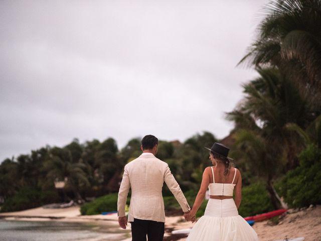 Alex and Nat's Wedding in Playa del Carmen, Mexico 60
