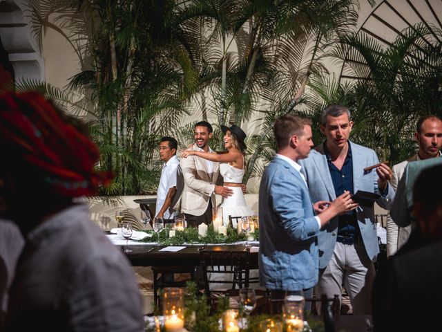 Alex and Nat's Wedding in Playa del Carmen, Mexico 69