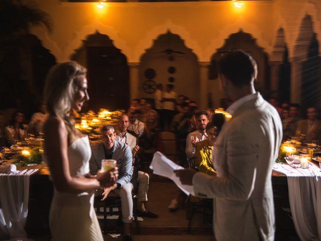 Alex and Nat's Wedding in Playa del Carmen, Mexico 77