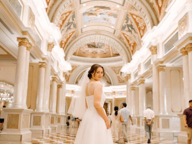 Garrett's and Riley's Wedding in Las Vegas, Nevada 16