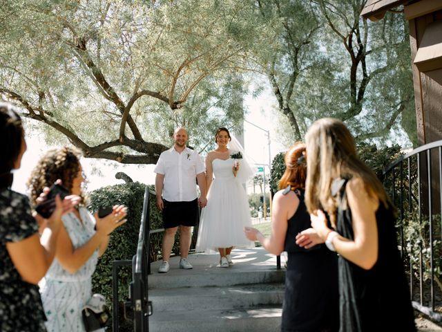 Garrett's and Riley's Wedding in Las Vegas, Nevada 19