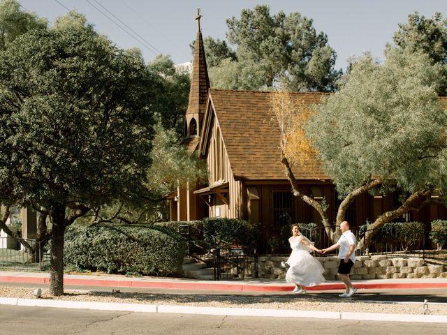 Garrett's and Riley's Wedding in Las Vegas, Nevada 21