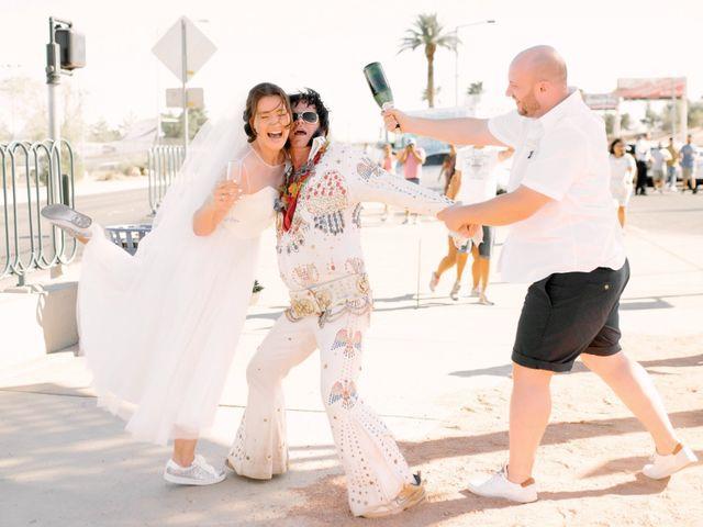 Garrett's and Riley's Wedding in Las Vegas, Nevada 22