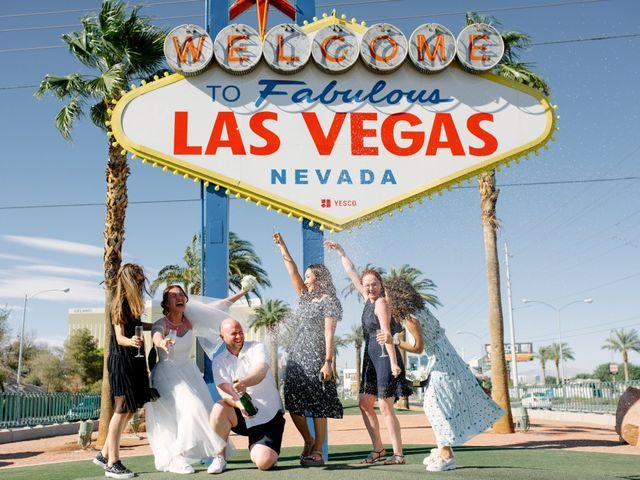 Garrett's and Riley's Wedding in Las Vegas, Nevada 23