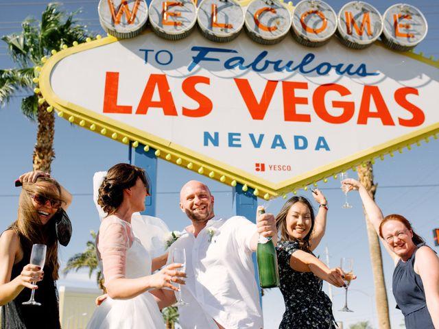 Garrett's and Riley's Wedding in Las Vegas, Nevada 24