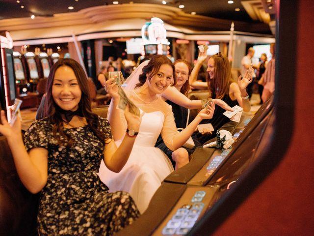 Garrett's and Riley's Wedding in Las Vegas, Nevada 28