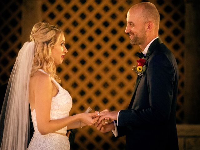 The wedding of Stephanie and Marcus
