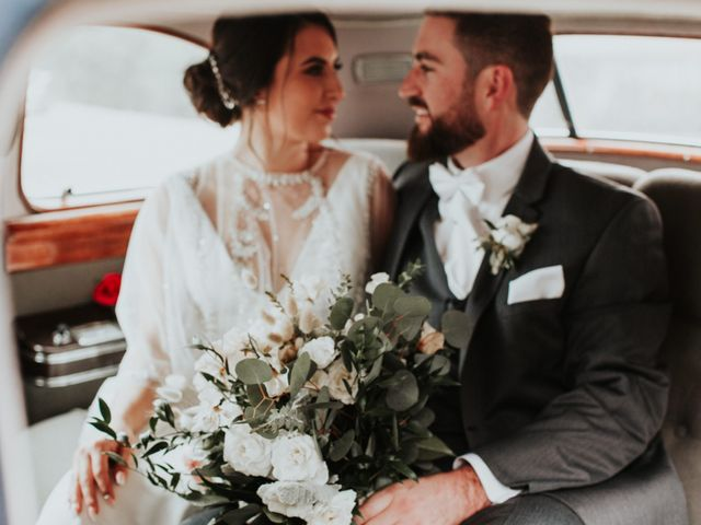The wedding of Vanessa and Evan