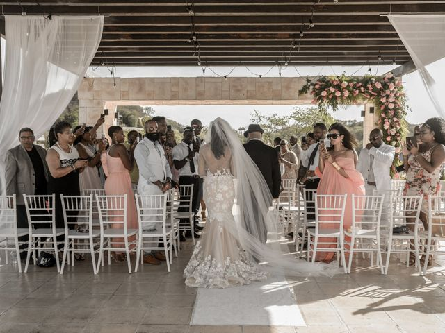 Mercedes and Alex's Wedding in Gros Islet, St. Lucia 18