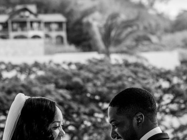 Mercedes and Alex's Wedding in Gros Islet, St. Lucia 22