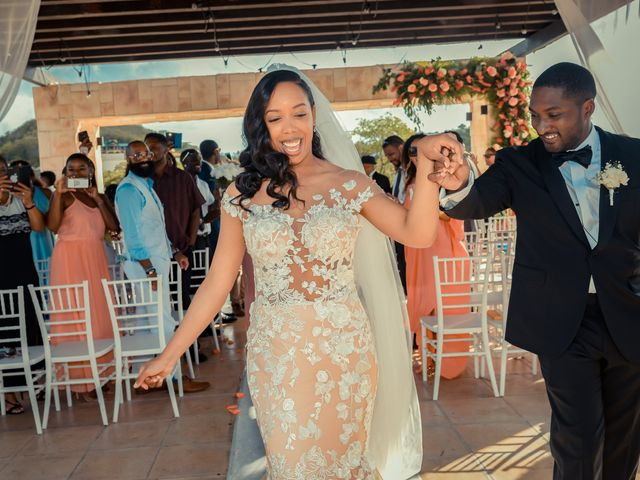 Mercedes and Alex's Wedding in Gros Islet, St. Lucia 25