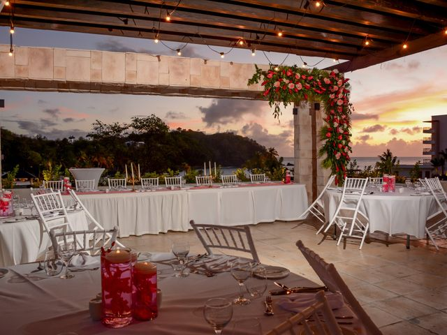 Mercedes and Alex's Wedding in Gros Islet, St. Lucia 34
