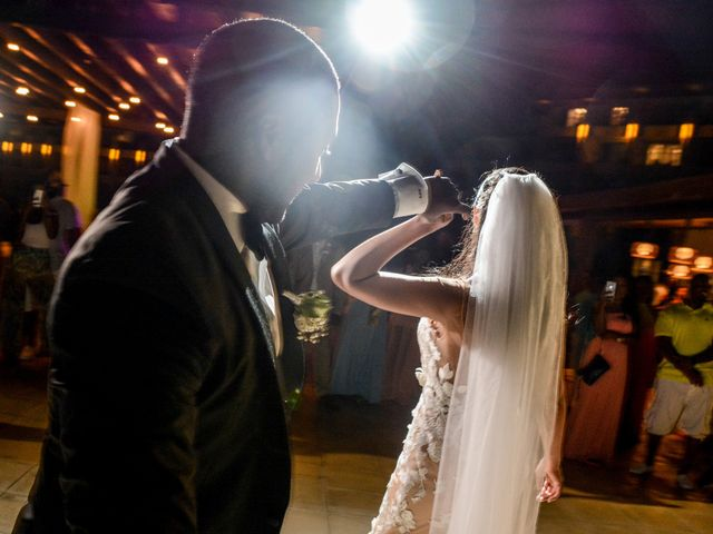 Mercedes and Alex's Wedding in Gros Islet, St. Lucia 42