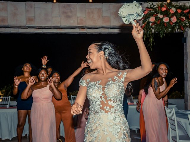 Mercedes and Alex's Wedding in Gros Islet, St. Lucia 43