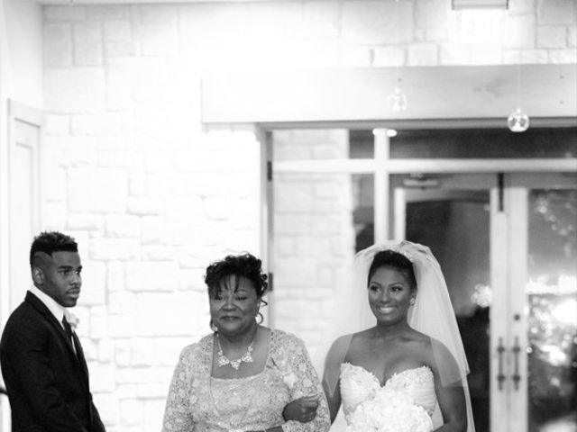 Ashley and Corey's wedding in Texas 9