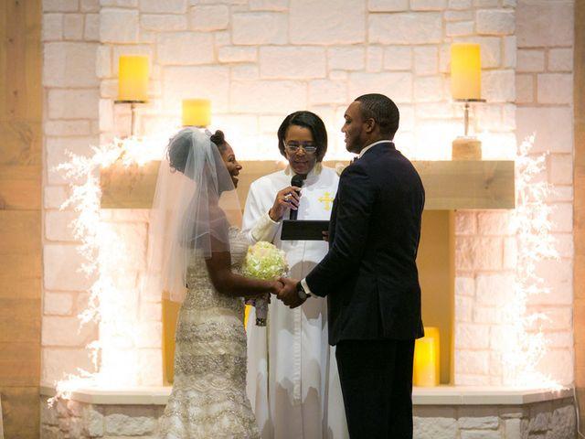 Ashley and Corey's wedding in Texas 11