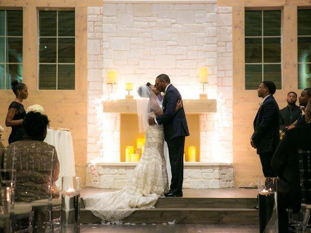 Ashley and Corey's wedding in Texas 12
