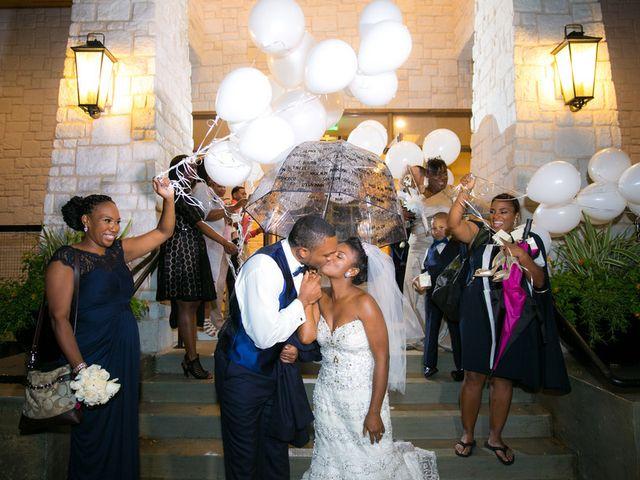 Ashley and Corey's wedding in Texas 23