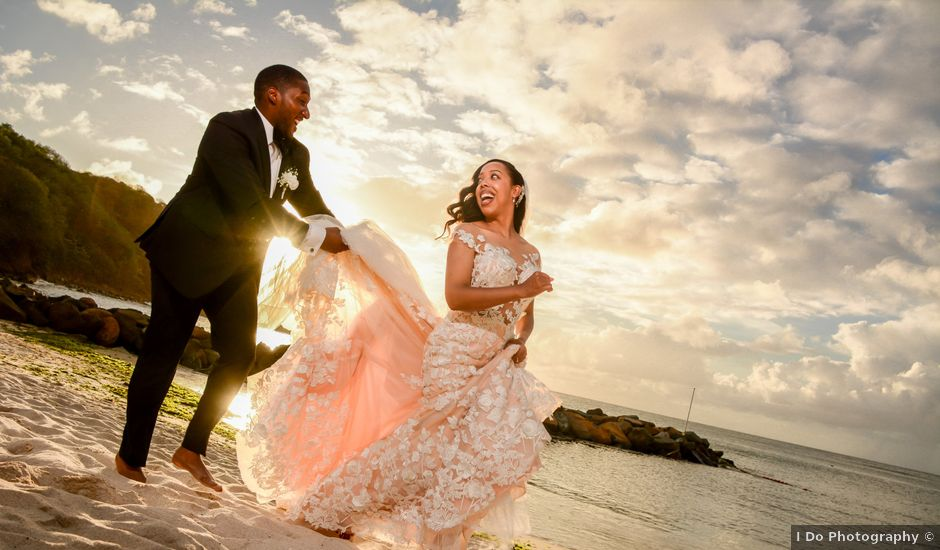Mercedes and Alex's Wedding in Gros Islet, St. Lucia