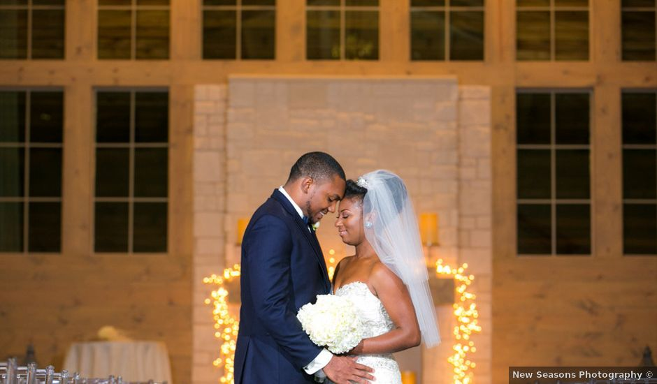 Ashley and Corey's wedding in Texas