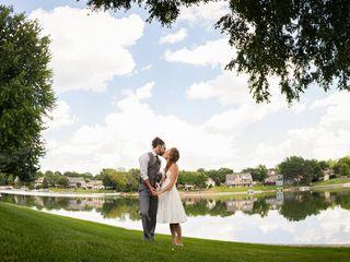 Christine and Ben's Wedding in Omaha, Nebraska 9