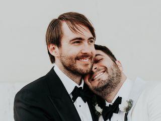 The wedding of Alex and Derek
