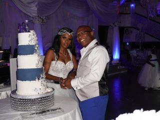 The wedding of Sabrina  and Donte  1