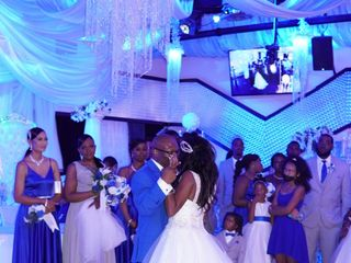 The wedding of Sabrina  and Donte  2