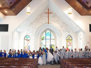 The wedding of Sabrina  and Donte  3
