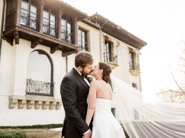 The wedding of Samantha and Elliot