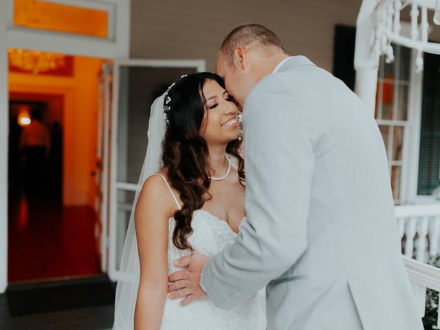 The wedding of Bradley and Elide