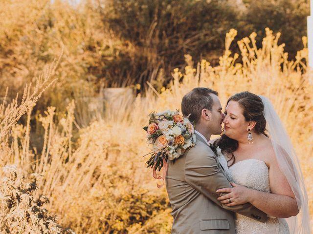 The wedding of Kat and Adam