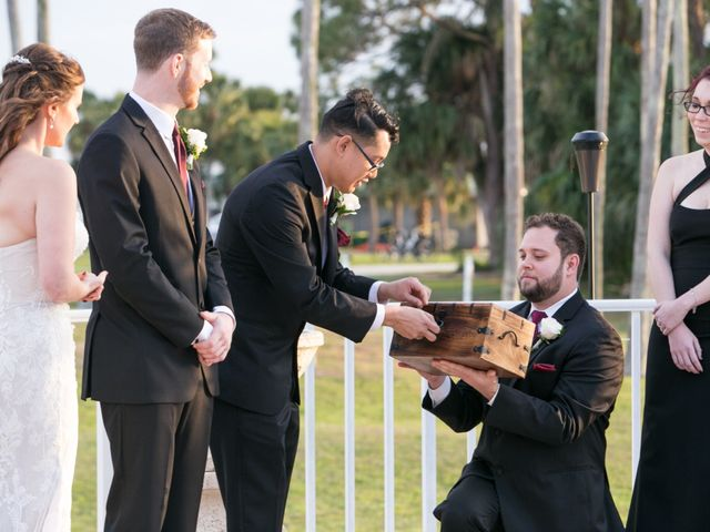 Billy and Alyx's Wedding in Safety Harbor, Florida 29